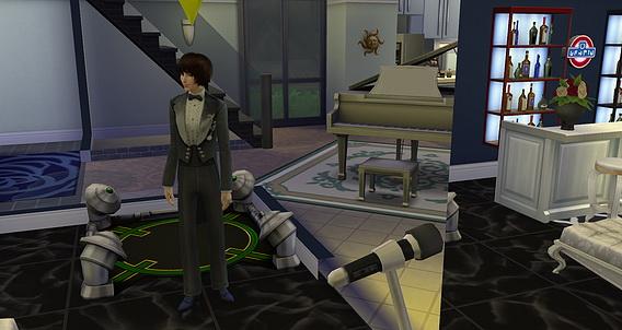 Sims 4 Men Party Suit at Studio K Creation