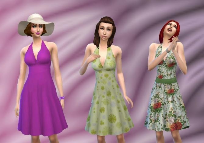 Graceful Dress at My Stuff image 1899 Sims 4 Updates