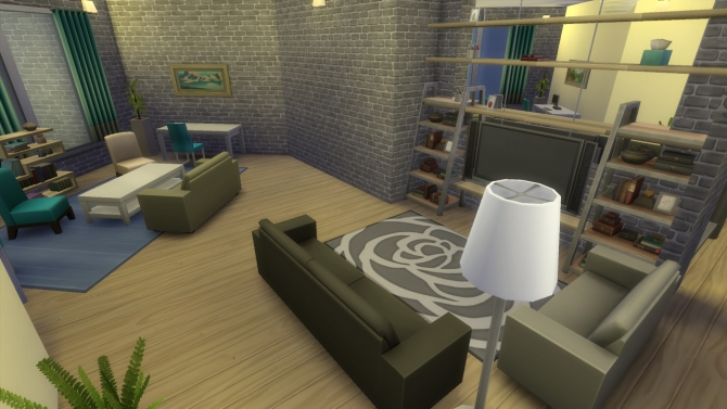 Modernity house by RayanStar at Mod The Sims image 19010 Sims 4 Updates