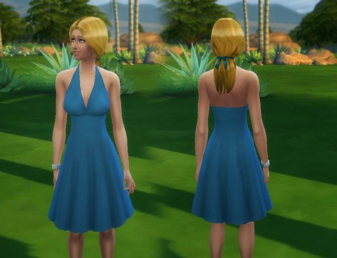 Graceful Dress at My Stuff image 1909 Sims 4 Updates