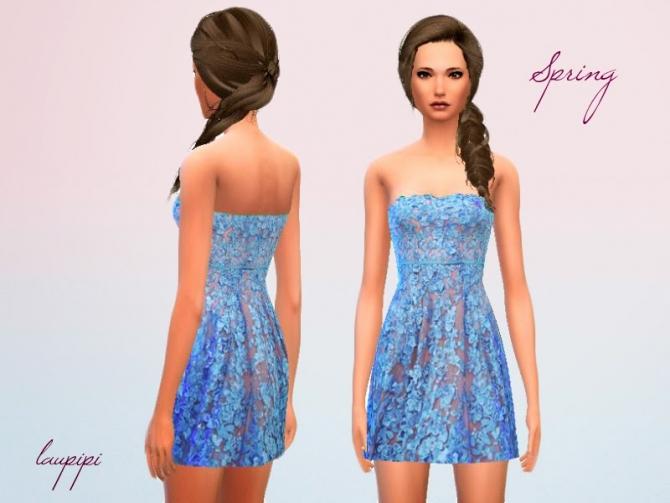 Spring Dress at Laupipi image 19112 Sims 4 Updates