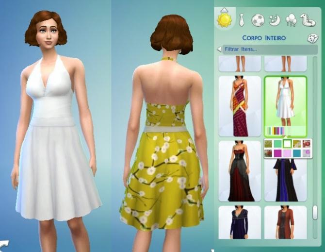 Graceful Dress at My Stuff image 19115 Sims 4 Updates