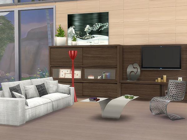 Sims 4 Living Slide by Pilar at TSR