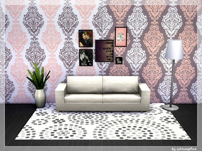 Loveley Dreams Wallpaper by schlumpfina at My Fabulous Sims image 1915 670x502 Sims 4 Updates