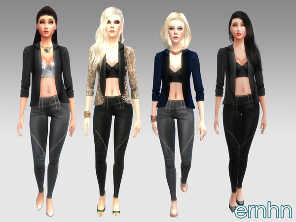 Chic Chick Set by ernhn at TSR image 1959 Sims 4 Updates