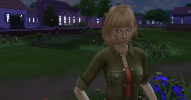 Sims 4 Annie by Simchanka at ihelensims