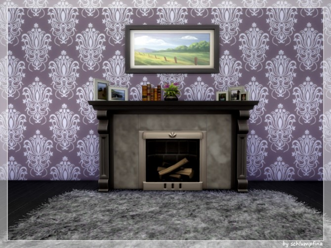 Loveley Dreams Wallpaper by schlumpfina at My Fabulous Sims image 1982 670x502 Sims 4 Updates