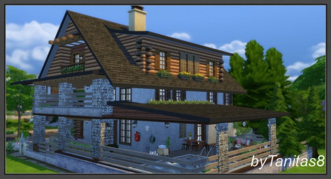 Chalet By Tanitas8 At Ladesire 187 Sims 4 Updates