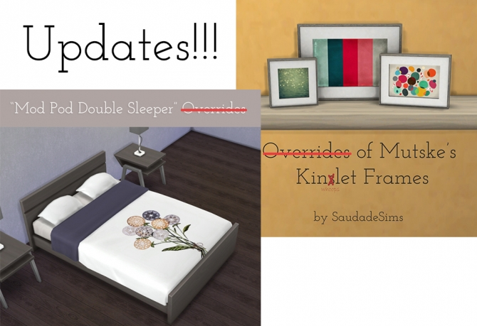 Sims 4 Mod Pod Double Sleeper overrides at Saudade Sims