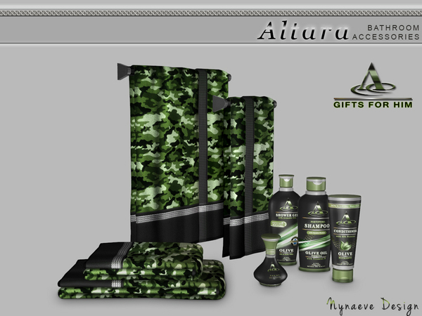 Sims 4 Altara Bathroom accessories by NynaeveDesign at TSR