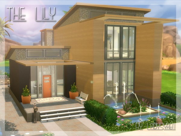 The Lily house by LadySyren at TSR image 2038 Sims 4 Updates