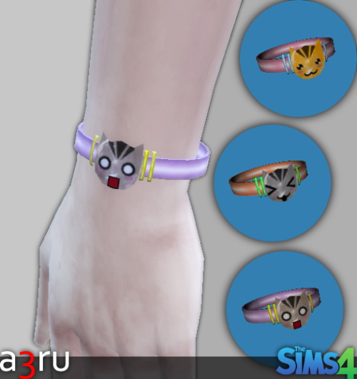 Sims 4 Kawaii Cat Charm at A3RU