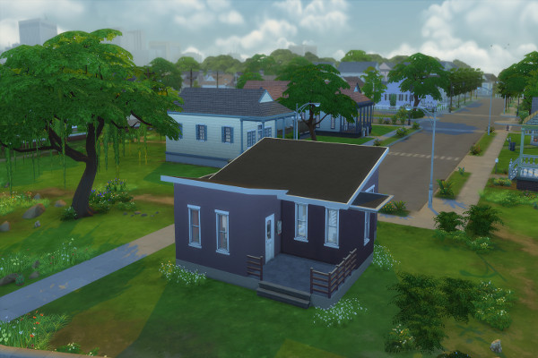 Sims 4 Brown Starter by mystril at Blacky's Sims Zoo