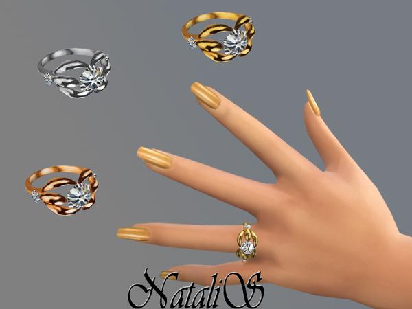 Sims 4 TS4 Diamond Ring by NataliS at TSR