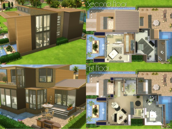 The Lily house by LadySyren at TSR image 2128 Sims 4 Updates