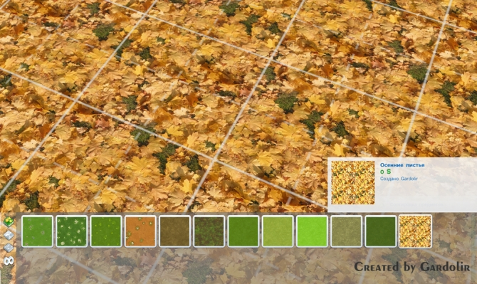 Autumn Leaves Terrain Paint by Gardolir at Mod The Sims image 2223 Sims 4 Updates