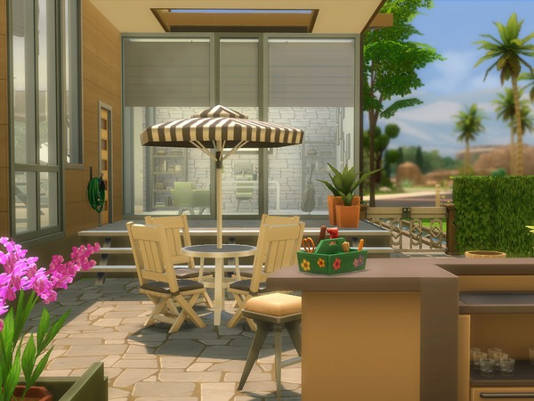 The Lily house by LadySyren at TSR image 2228 Sims 4 Updates