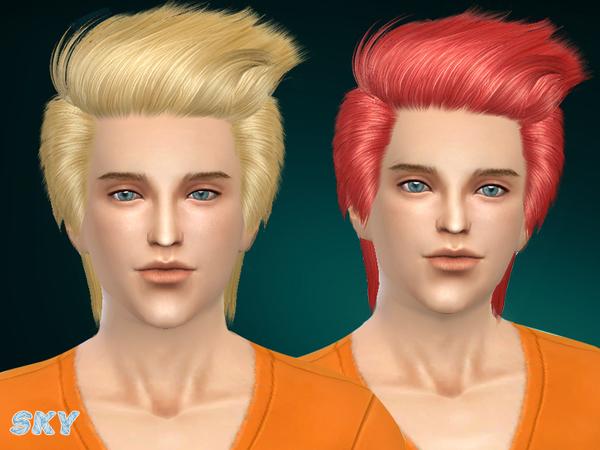 Sims 4 Hair 256 by Skysims at TSR