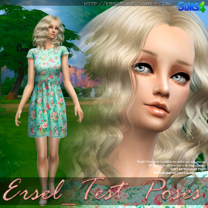 Test poses by Ersel at ErSch Sims image 2291 Sims 4 Updates