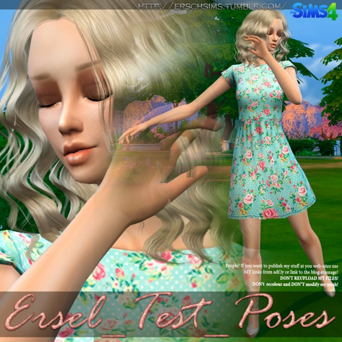 Test poses by Ersel at ErSch Sims image 2301 Sims 4 Updates