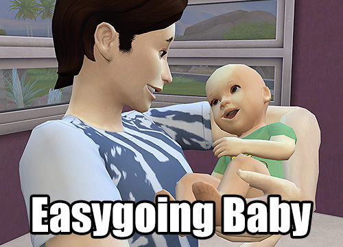 Sims 4 Easygoing Baby by egureh at Mod The Sims