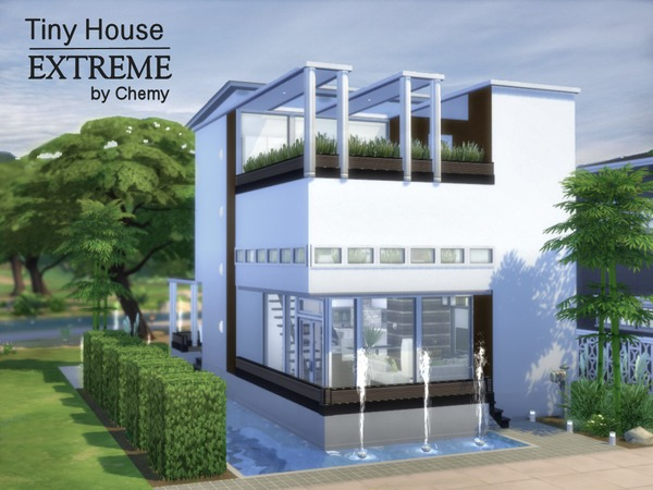 Tiny House EXTREME by chemy at TSR image 2424 Sims 4 Updates