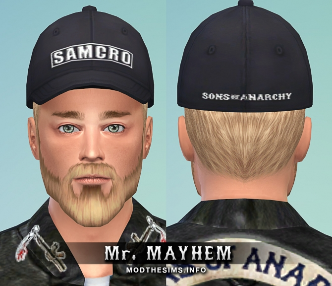 Sons of anarchy hat set by mr mayhem at mod the sims