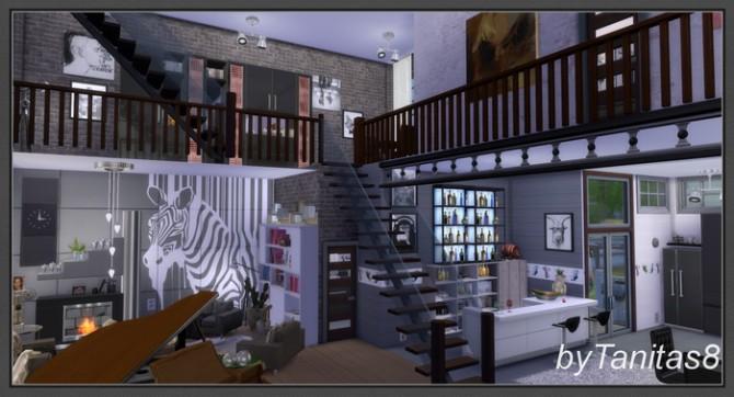 Zebra Loft At Tanitas8 Sims 187 Sims 4 Updates