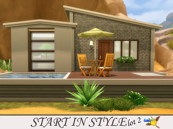 Start in Style lot 2 by evi at TSR image 256 Sims 4 Updates