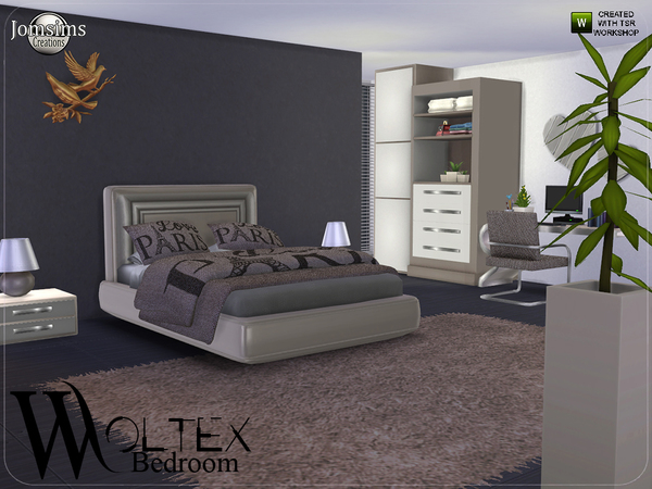 Woltex bedroom by jomsims at TSR image 2619 Sims 4 Updates