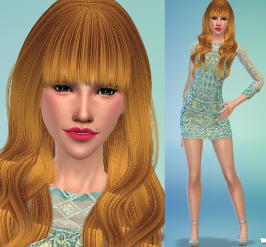 Sims 4 Model CAS Poses TS4 by lenina 90 at Sims Fans