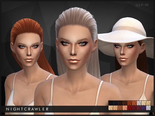 19 Af 4 By Tsr Updates At Sims » Nightcrawler Hair kZTPiuXO