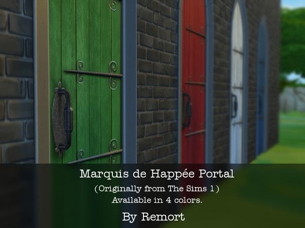 Marquis de Happee Portal doors by Remort at TSR image 28 Sims 4 Updates