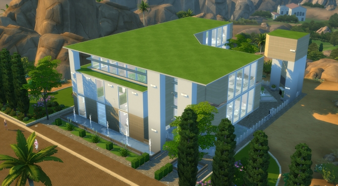 Arbo Domo house by MrDemeulemeester at Mod The Sims image 2817 Sims 4 Updates