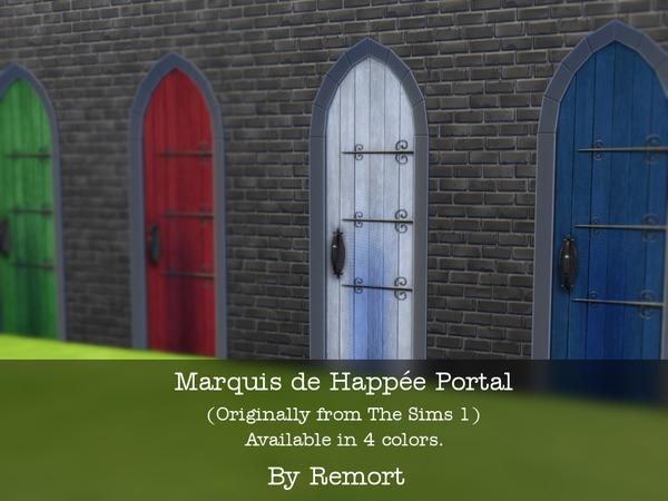 Marquis de Happee Portal doors by Remort at TSR image 29 Sims 4 Updates
