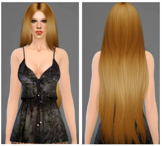 Sims 4 Alesso Galactic Hair Retexture at Artemis Sims
