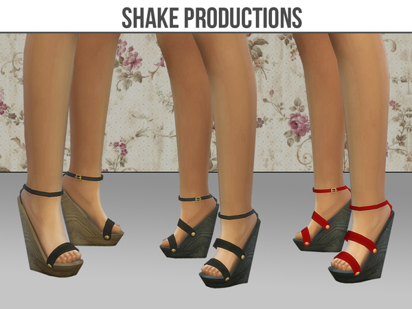 SHOES SET 09 by ShakeProductions at TSR image 2914 Sims 4 Updates