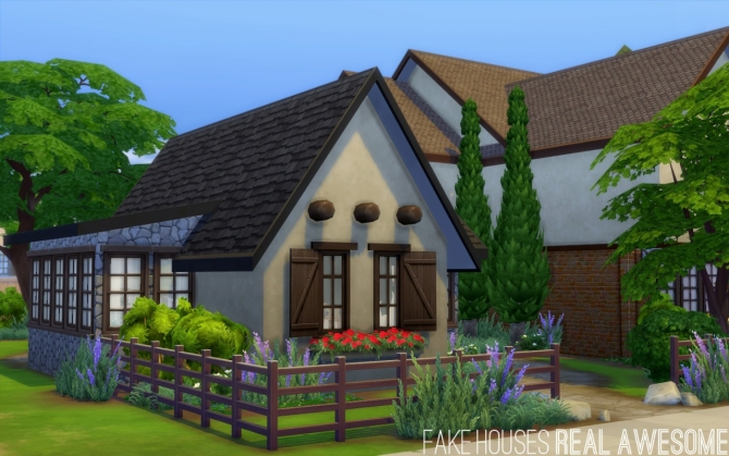 Oakendene house at fake houses real awesome sims 4 updates for Awesome sims