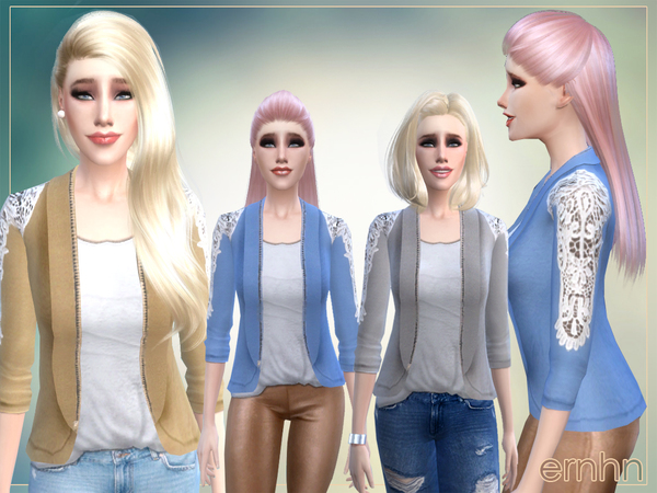 Easy Casual Trend Set by ernhn at TSR image 2922 Sims 4 Updates