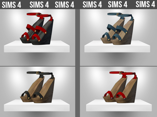 SHOES SET 09 by ShakeProductions at TSR image 3019 Sims 4 Updates