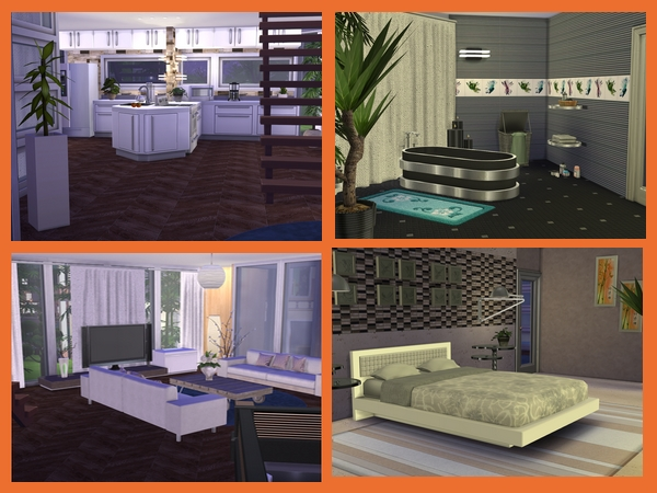 Sims 4 Hübsch villa by Maxi Sims at Akisima