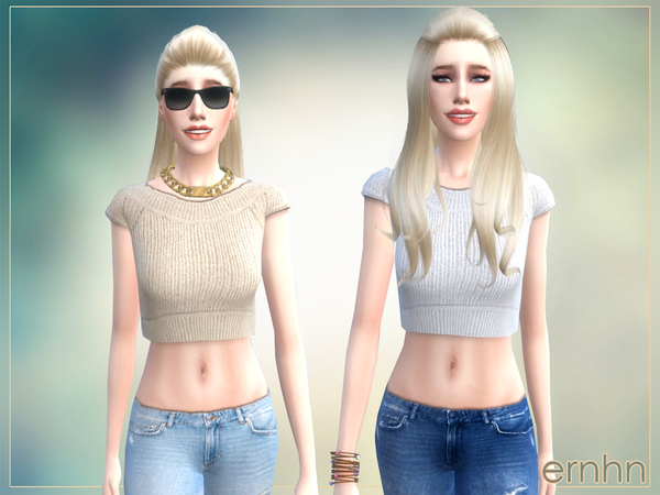 Sims 4 Easy Casual Trend Set by ernhn at TSR