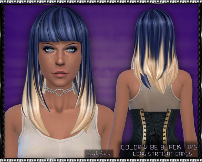 Color Vibe Hair w/ Blonde Tips by SrslySims at Mod The Sims image 3131 Sims 4 Updates