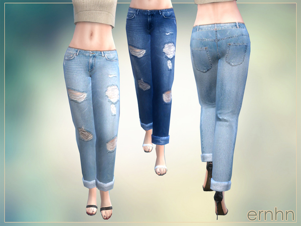 Easy Casual Trend Set by ernhn at TSR image 3132 Sims 4 Updates
