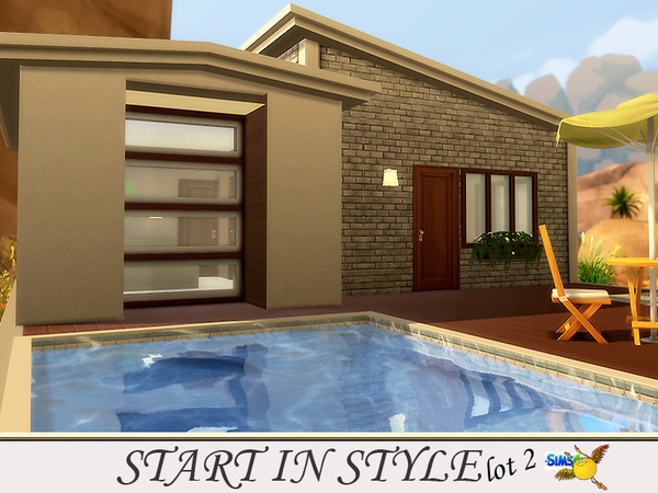 Start in Style lot 2 by evi at TSR image 317 Sims 4 Updates