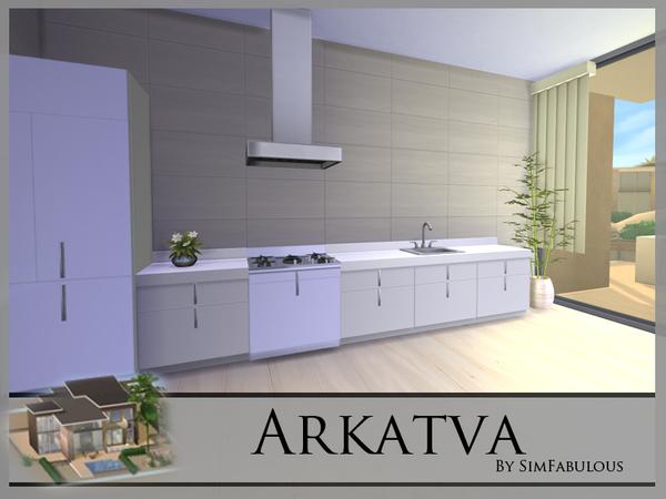 Arkatva house by SimFabulous at TSR image 32 Sims 4 Updates