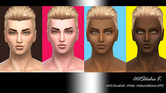 Male Skin tone nature texture at Studio K Creation image 3220 Sims 4 Updates