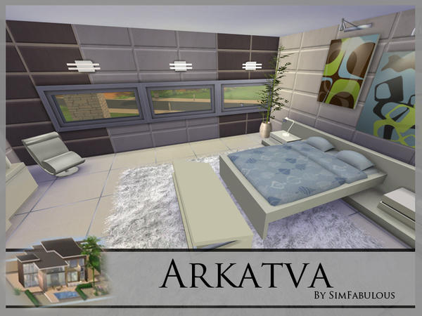 Arkatva house by SimFabulous at TSR image 33 Sims 4 Updates