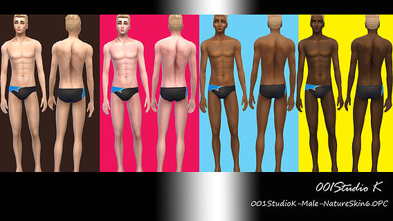 Male Skin tone nature texture at Studio K Creation image 3319 Sims 4 Updates