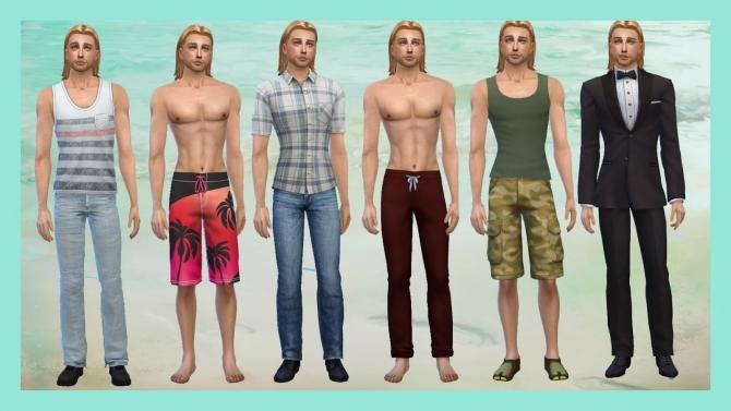 Sims 4 RAIDEN & DRAKE at Alelore Sims Blog